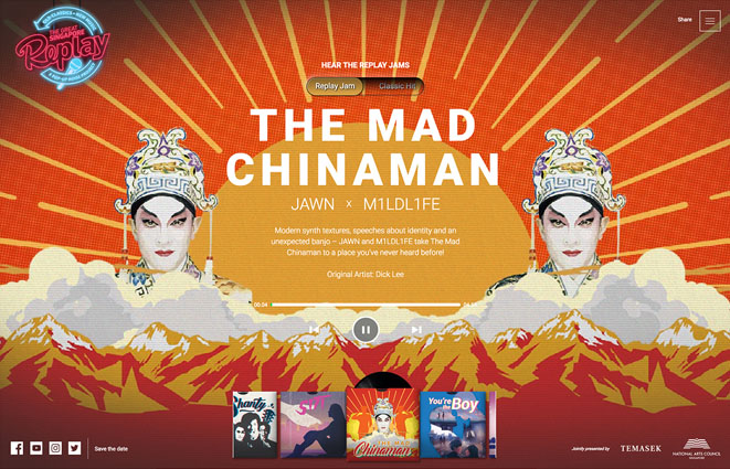The Mad Chinaman, The Great Singapore Replay.
