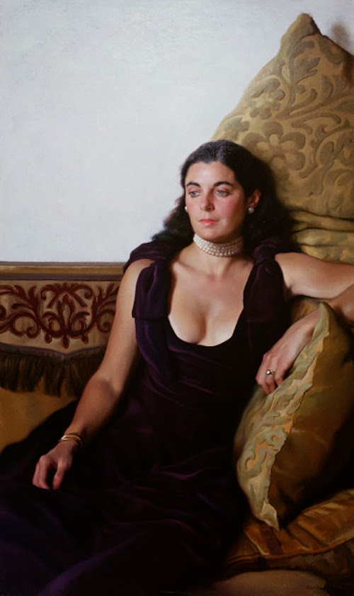 Por Amor al Arte: Nelson Shanks, pintor de renombre mundial.