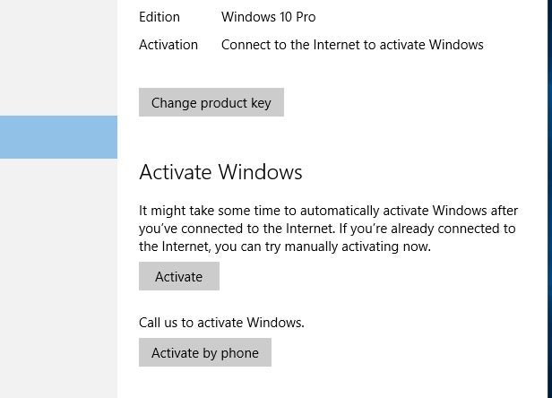Confirm That Windows 10 Has Activated