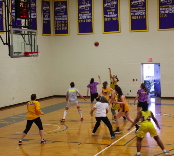 Student Faculty Basketball Game