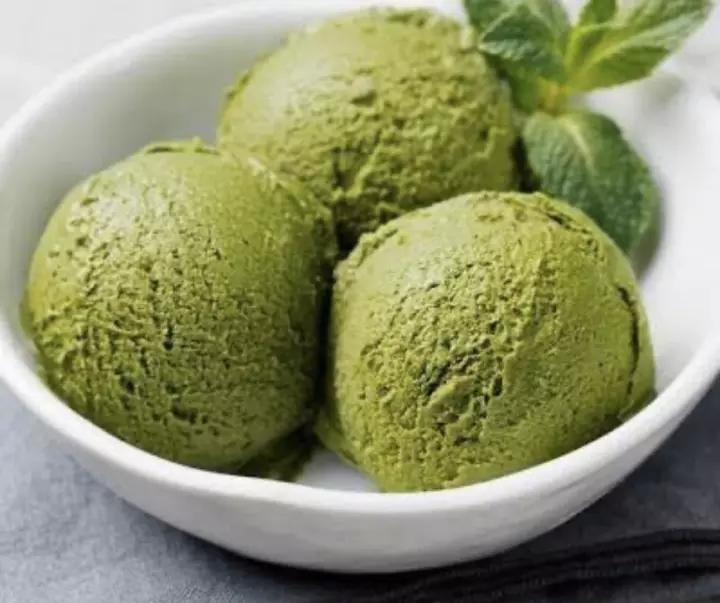 3. ไอศกรีมโฮมเมด รสชาเขียว