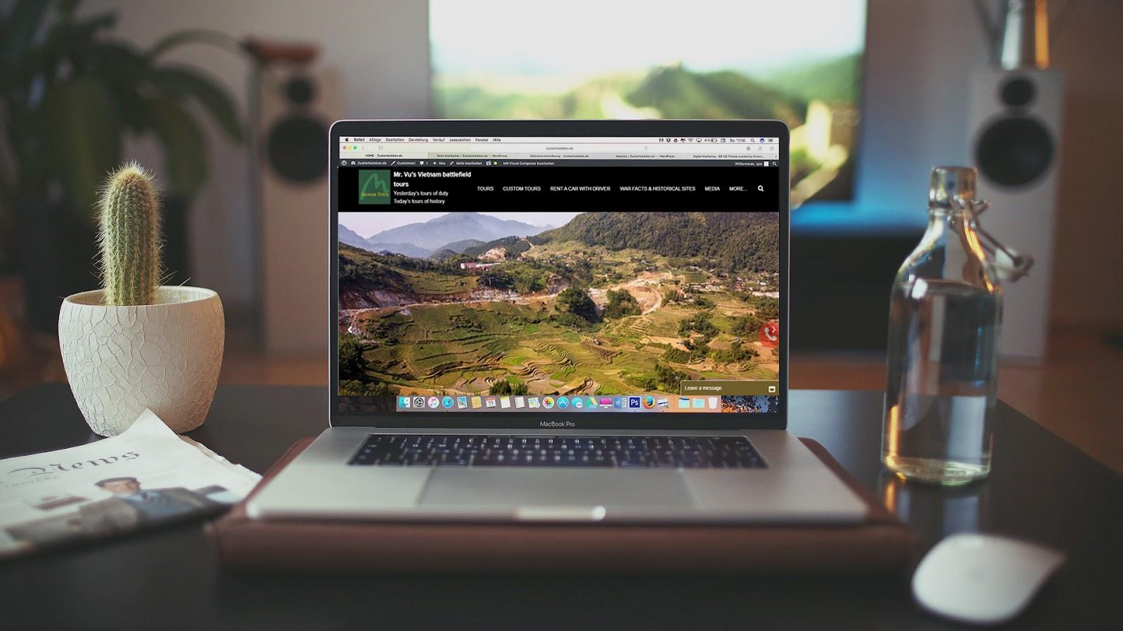 Tạo sự đơn giản hóa trong từng thiết kế website