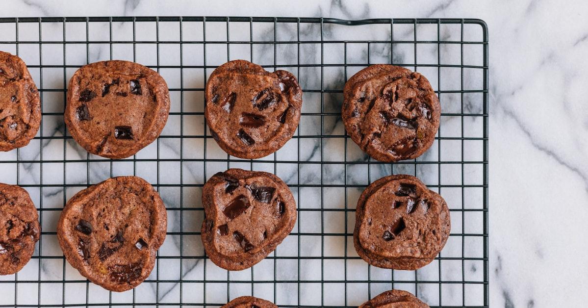 tendenza cookie al forno per negozio di e-commerce