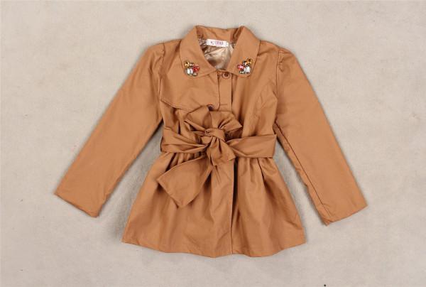 Kid trench coat