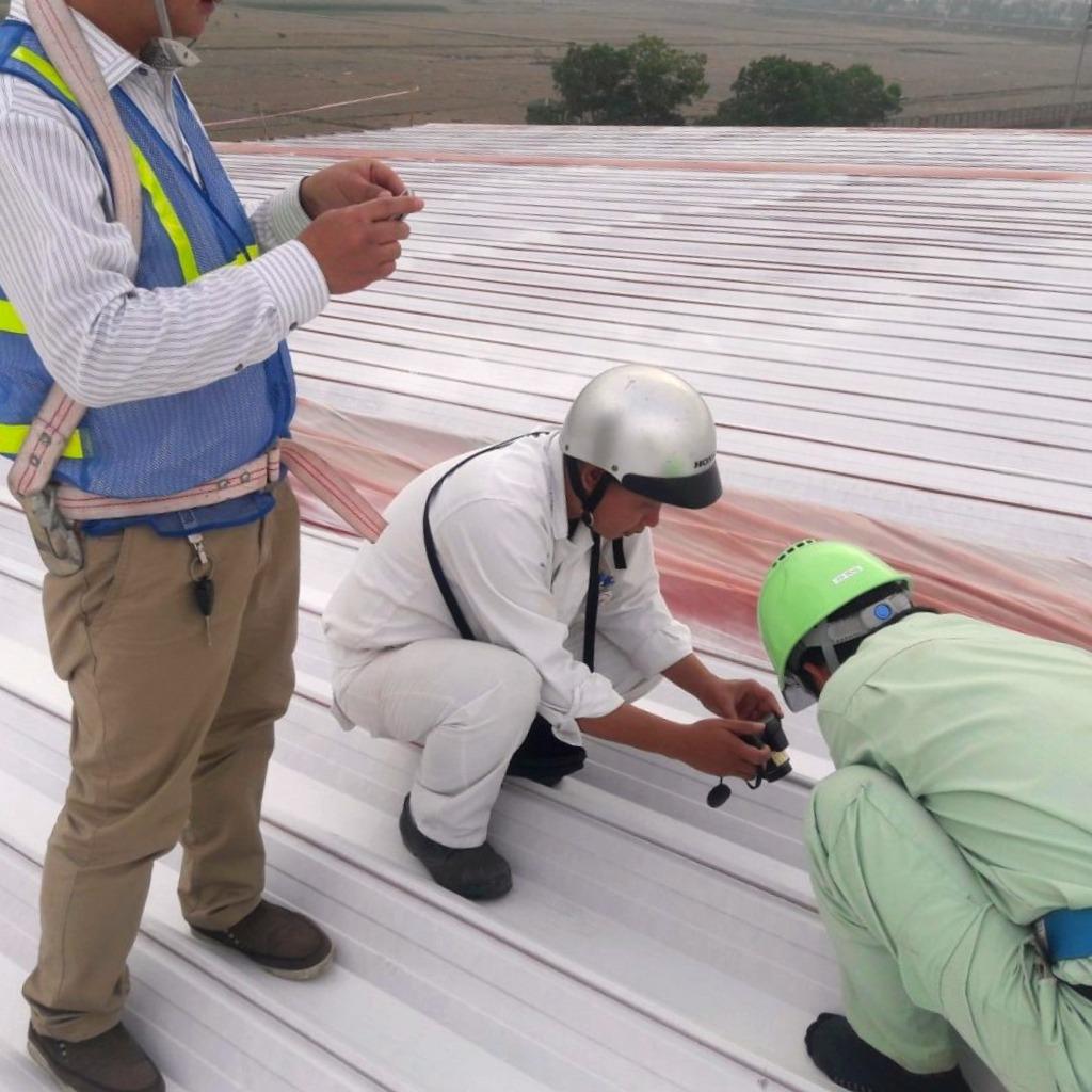 Bảo đảm yêu cầu về chất lượng mái tôn