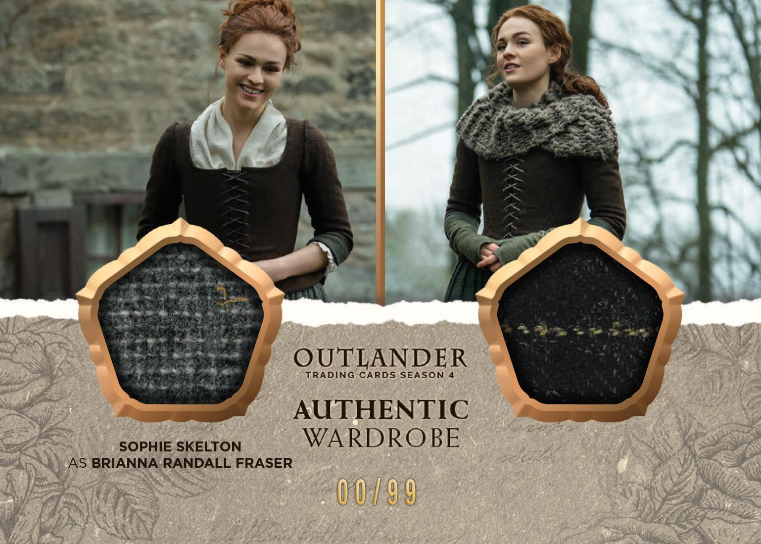Outlander Trading Cards Season 4: Convention Wardrobe Cards CE5