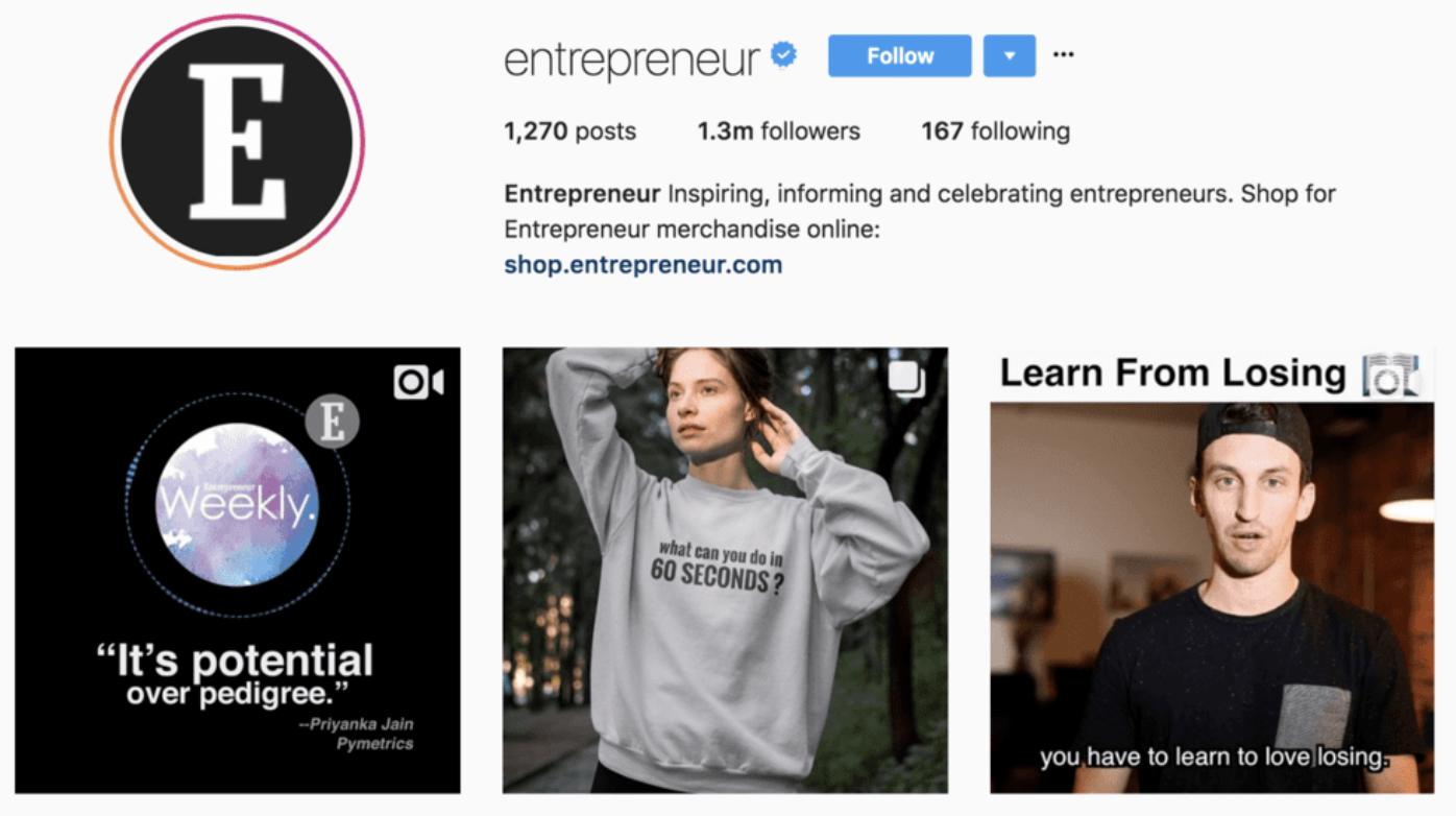 business-instagram-niche