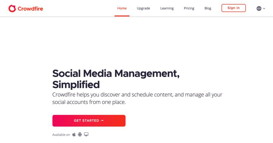 Crowdfire - Social Media Management