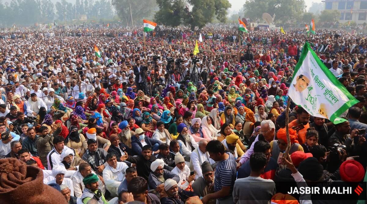 Image result for farmers mahapanchayat in punjab