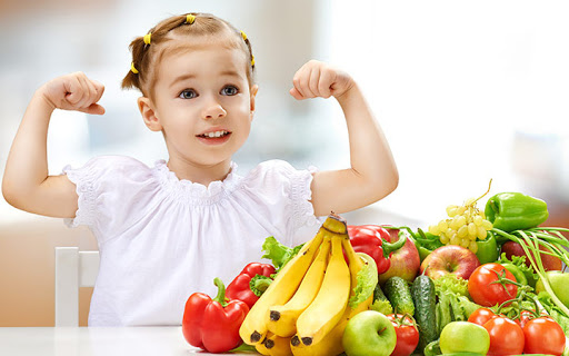 Nâng cao đề kháng cho trẻ bằng chế độ ăn đảm bảo dinh dưỡng