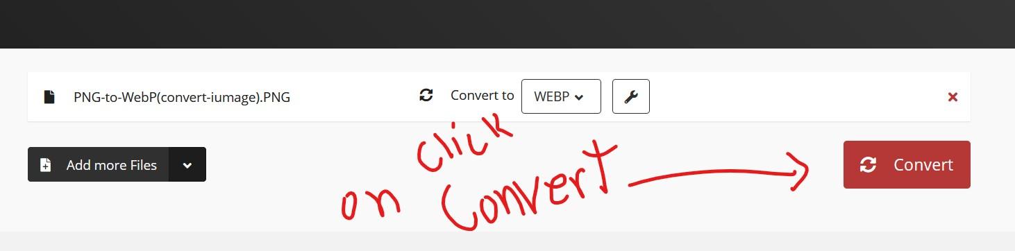 Download webp converted images.