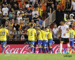Resultado de imagen de Valencia - las palmas 2016- 2017