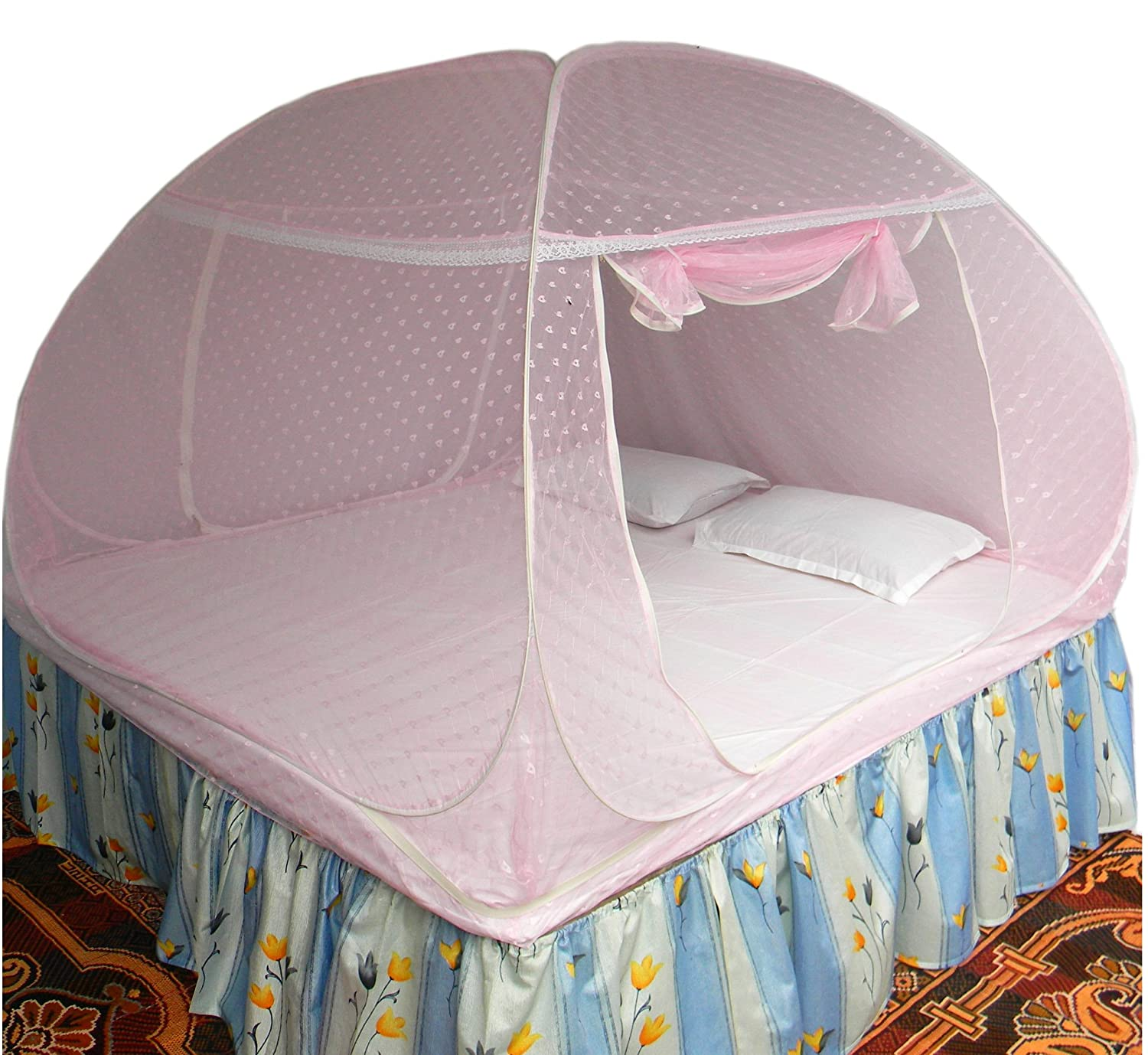 Healthy Sleeping Foldable Double Bed Mosquito Net