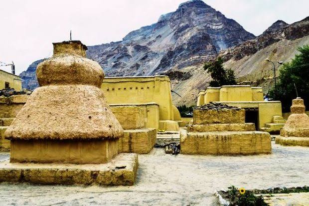 Sub temples at Tabo Gompa