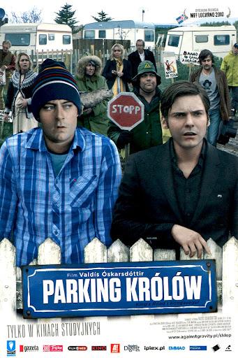 Przód ulotki filmu 'Parking Królów'