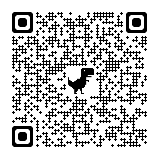 Scatter chart, qr code Description automatically generated