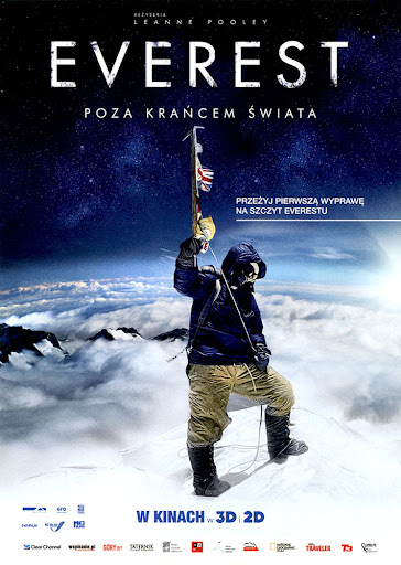 Przód ulotki filmu 'Everest - Poza Krańcem Świata'