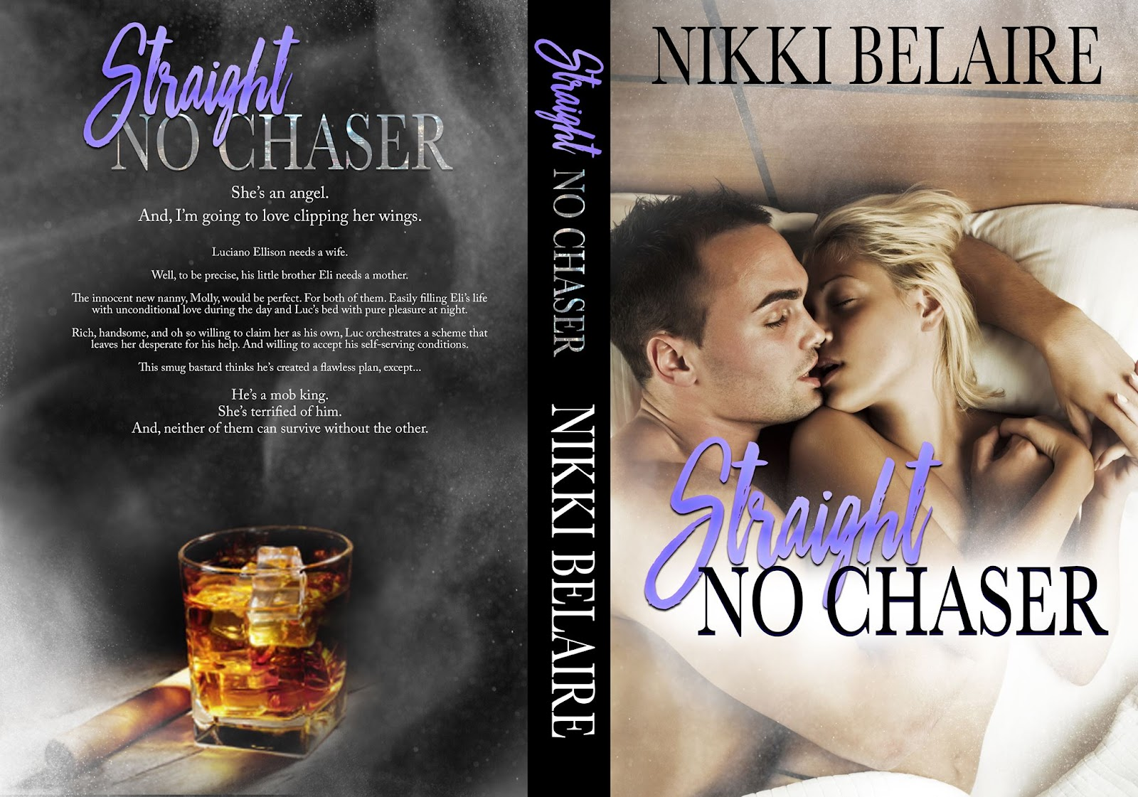 Full cover, Straight No Chaser by Nikki Belaire