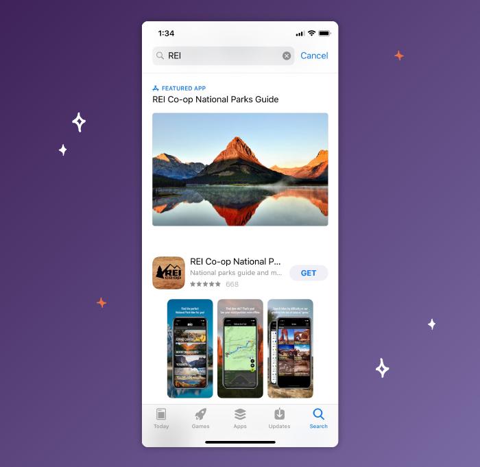 REI App