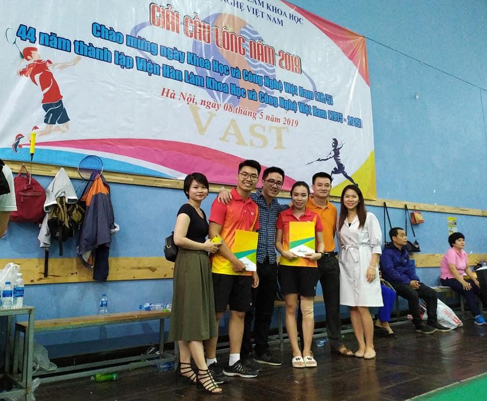 NetNam vô địch Giải Cầu lông 44 năm thành lập Viện Hàn Lâm KH&CN Việt Nam