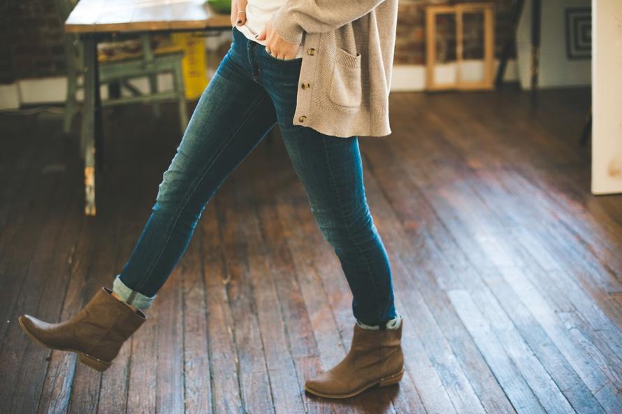 fashion, woman, walking