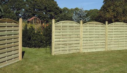 Garden Timber Fencing