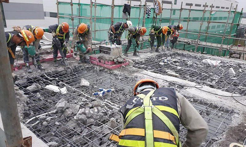 Ngành dịch vụ khoan cắt bê tông được rất nhiều nhà thầu quan tâm
