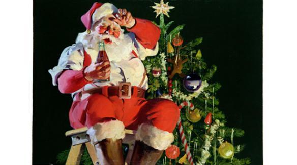 1935 Coca-Cola Holiday Ad