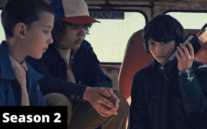 Index of Stranger Things Season 2