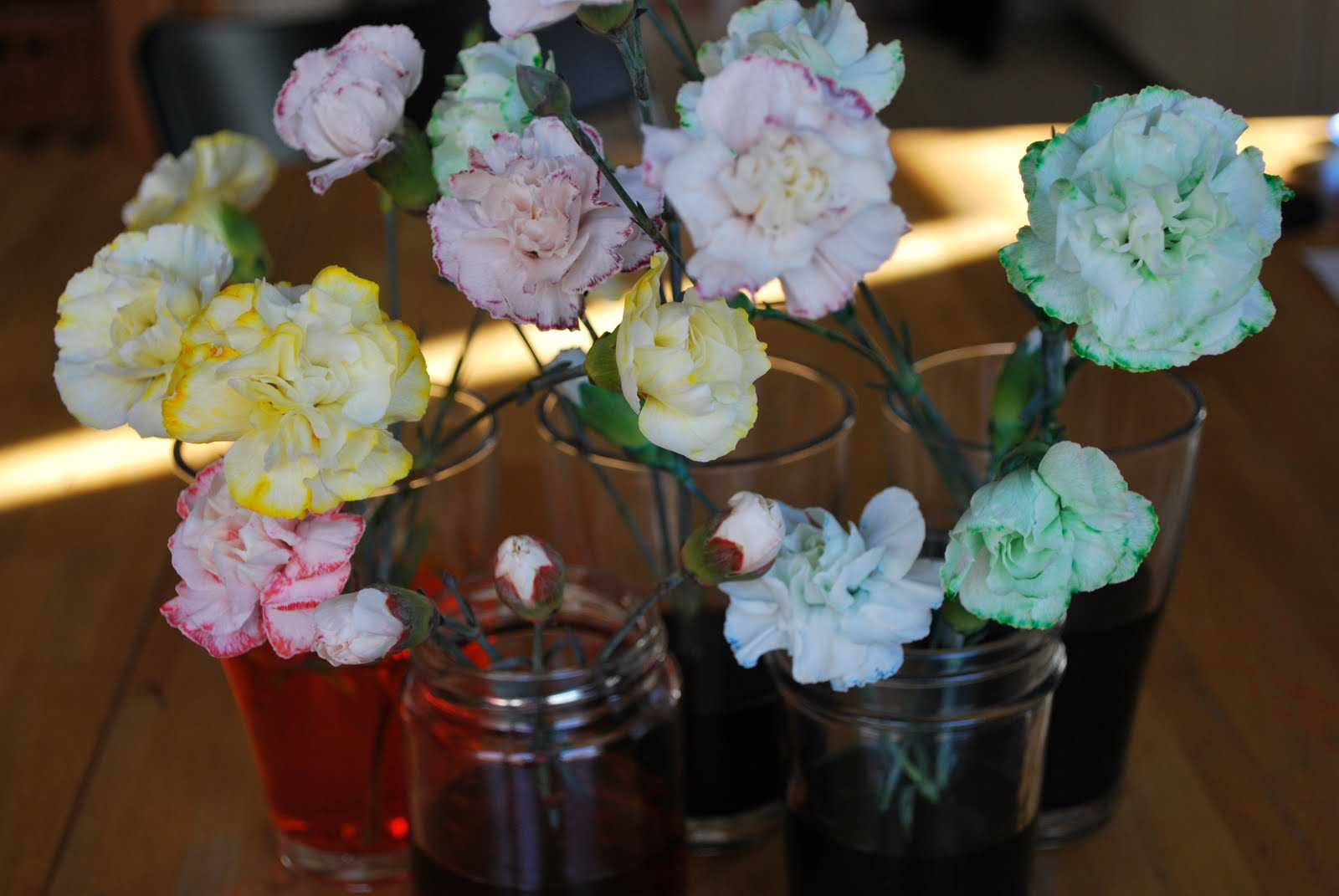 How to dye flowers a different colour in just 6 steps my wedding store fill a vase with cold water enough so that the flower stems will be fully immersed add your dye to the water there is no exact science to mightylinksfo