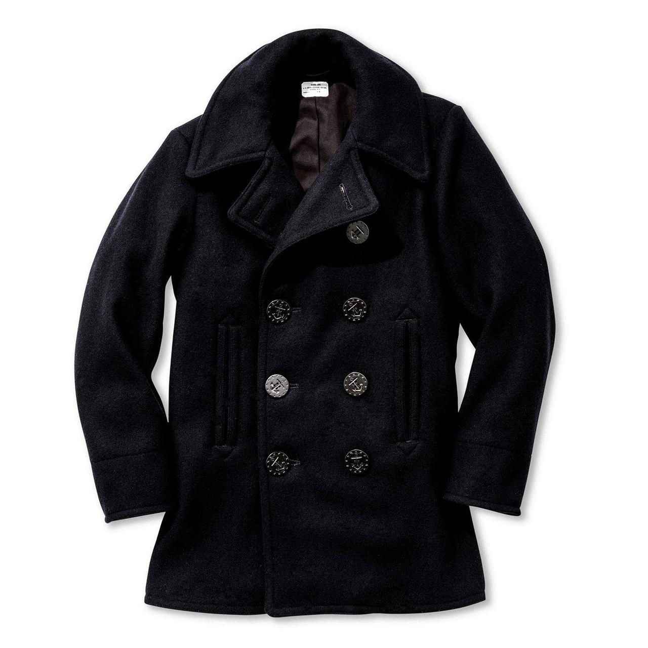 WWII U.S. Navy Pea Coat-Outerwear-Clutch Cafe