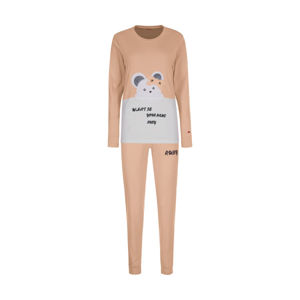 ست تی شرت و شلوار زنانه مادر مدل 2041301-80