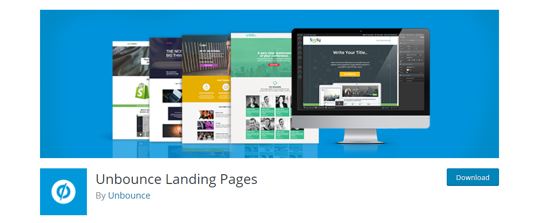 unbounce wordpress plugin download page