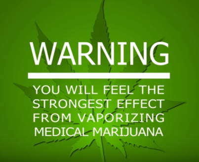warning - your marijuana might make you well.