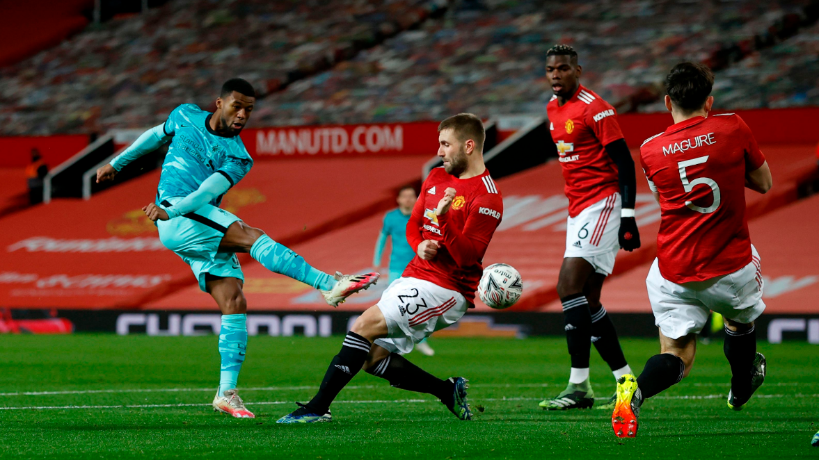 Manchester United đã đánh bại Liverpool 3-2 ở trận đối đầu gần nhất