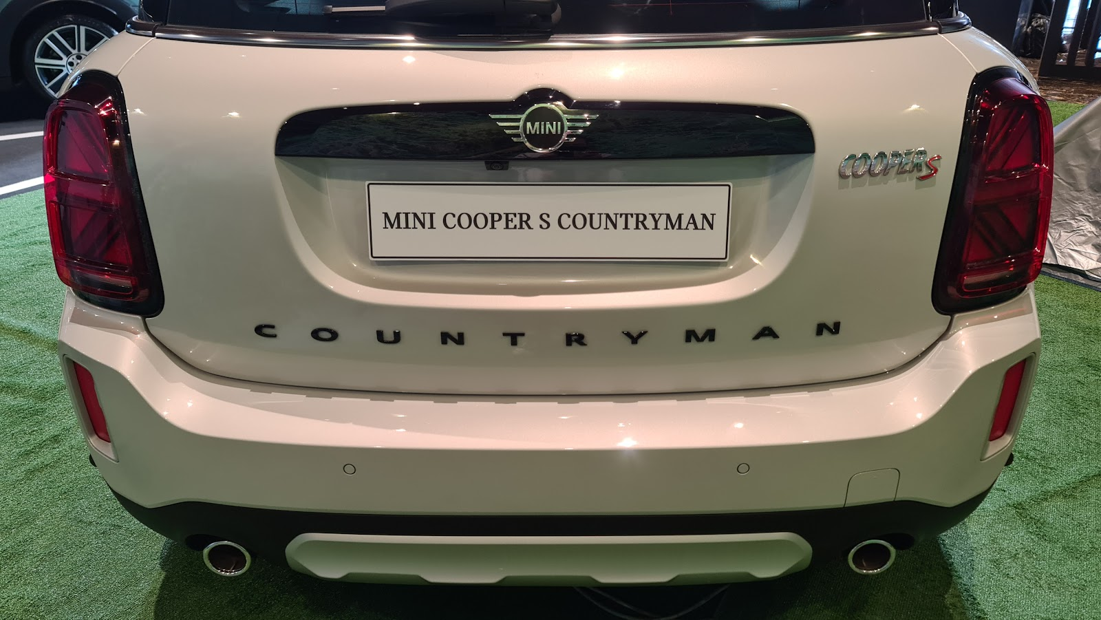 2021 MINI Cooper S Countryman Rear View