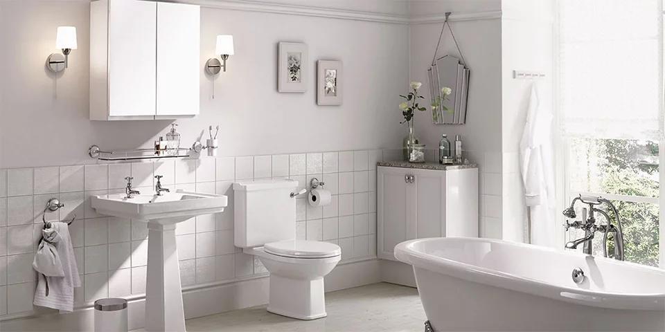 Chú ý cách sắp đồ hợp lý cho phòng tắm gia đình