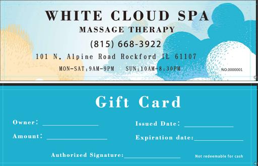 White Cloud Spa - Massage Therapist in Rockford