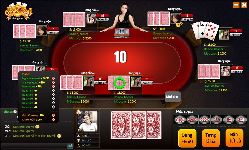 Game đánh bài trực tuyến ăn tiền hot nhất hiện nay[/b]