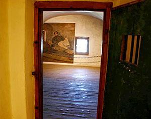 Rózsa Sándor cellája.
