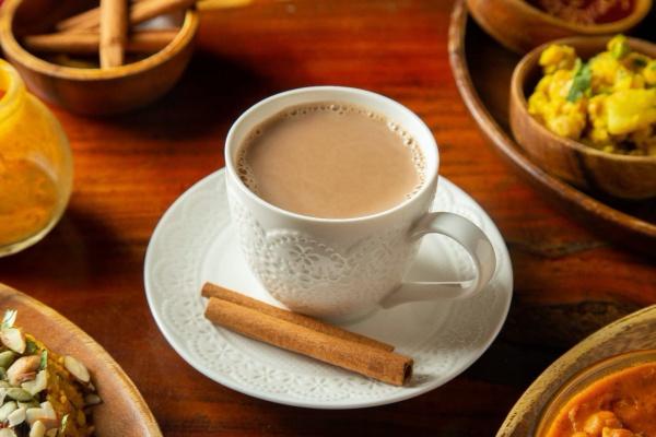 台北-蔬食餐廳-三個傻瓜印度蔬食-香料堅果奶茶