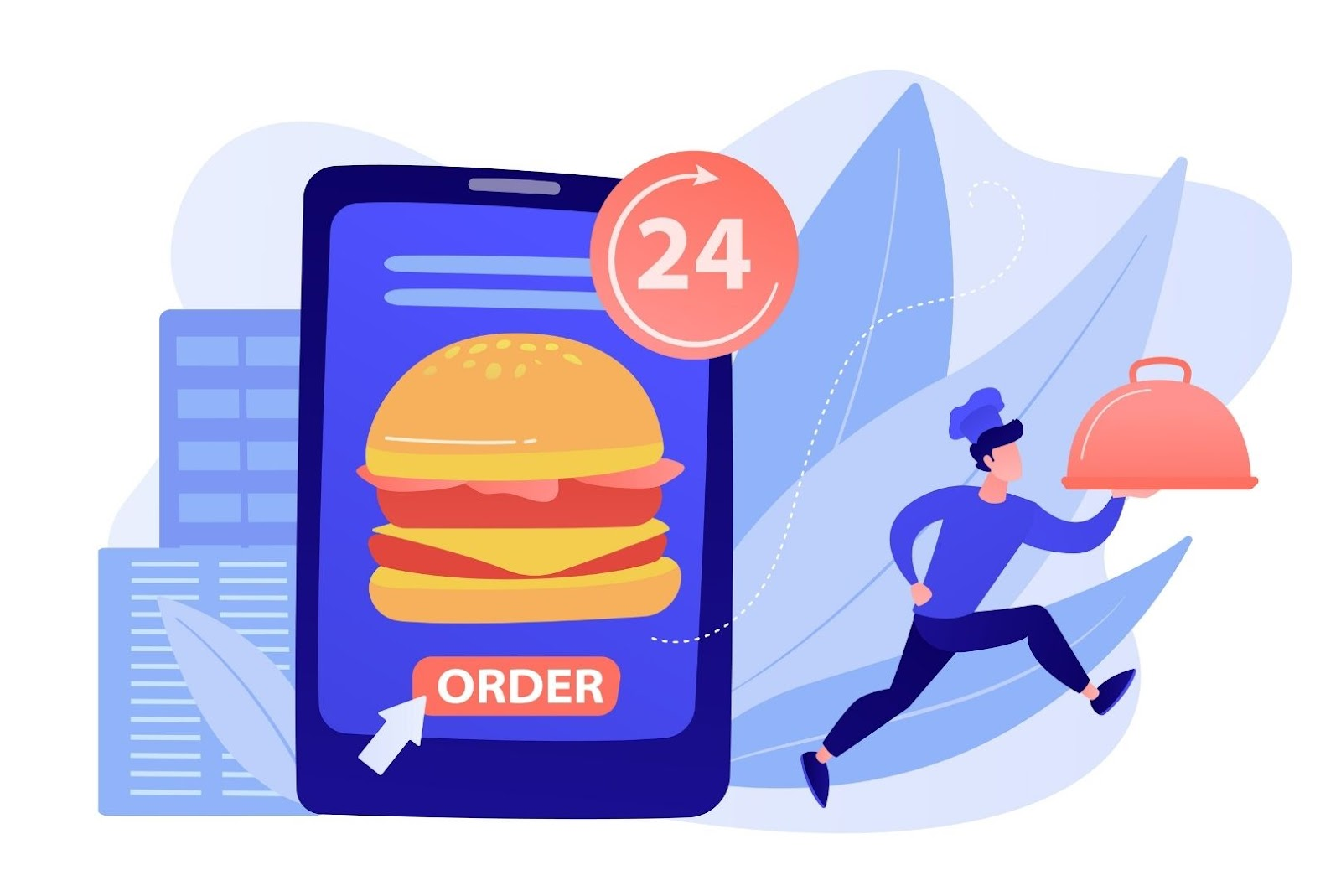 On-demand food ordering app for restaurants
