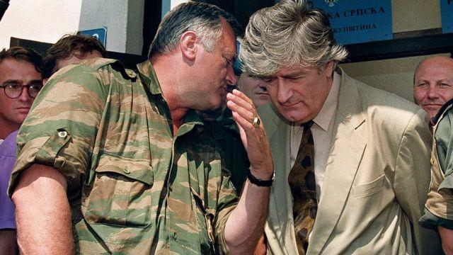 Караджич и Младич