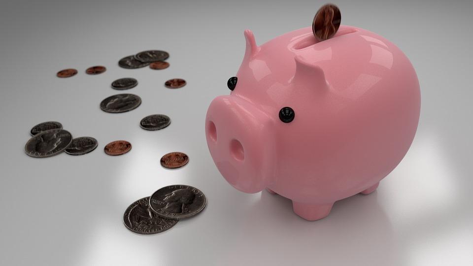 Piggy Bank, Savings, Money, Bank, Coin, Currency