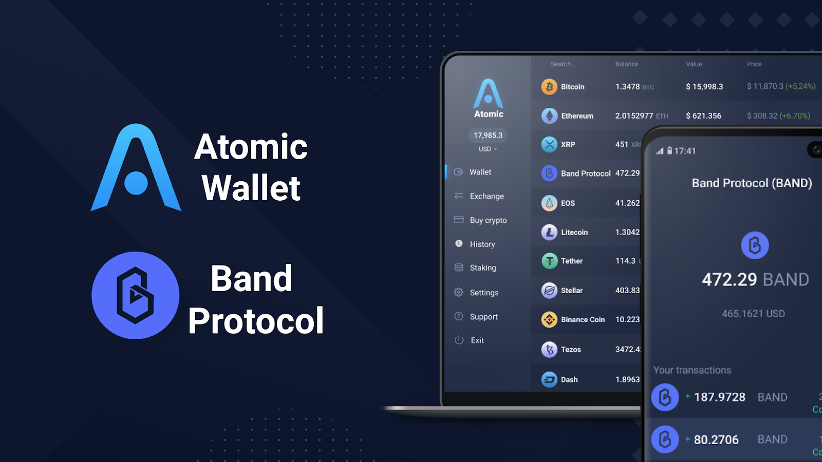 band protocol staking