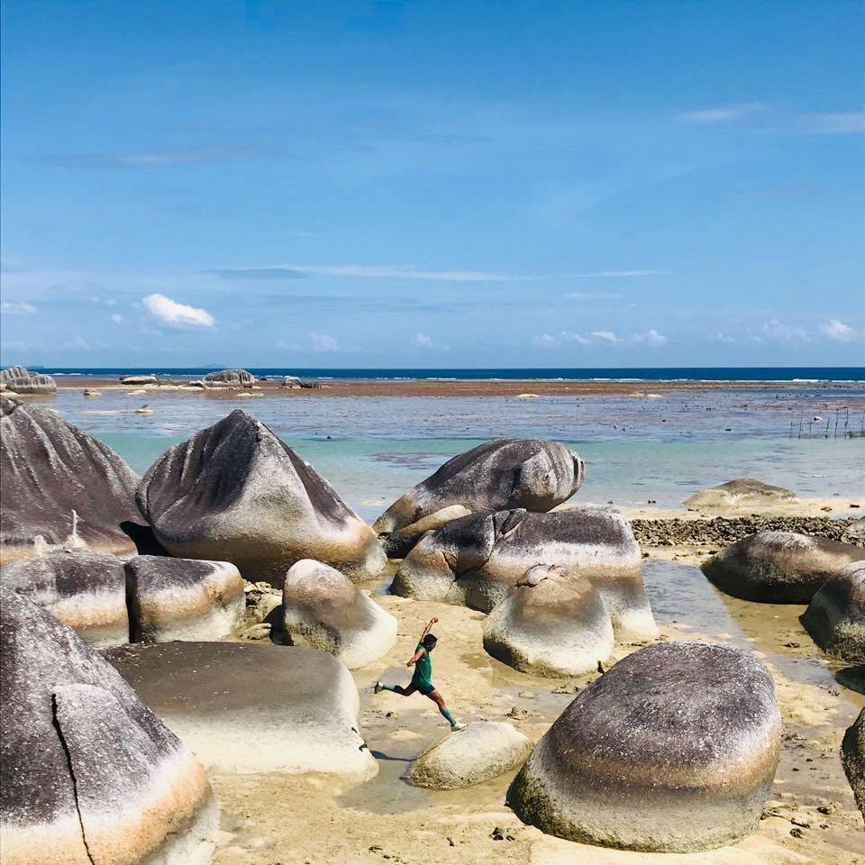 alif stone park Natuna Island