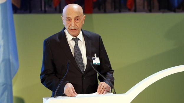 Глава ливийского парламента Акила Салех