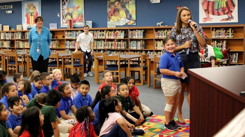 Sarasota County Schools students and teachers