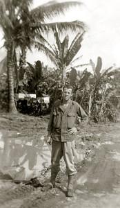 Walt in New Guinea, 1943