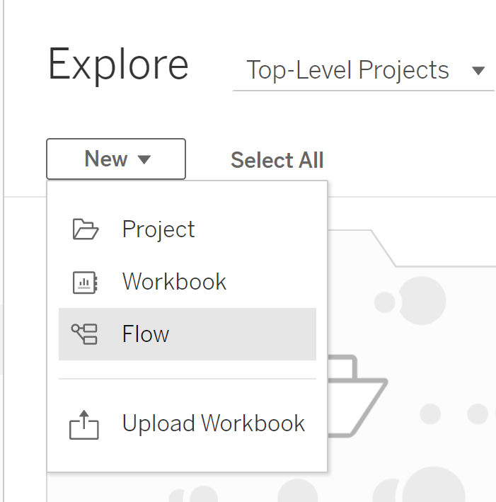 Create a Tableau Prep Flow on Tableau Server